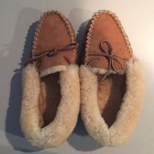 LL Bean women's used wicked good moccasins